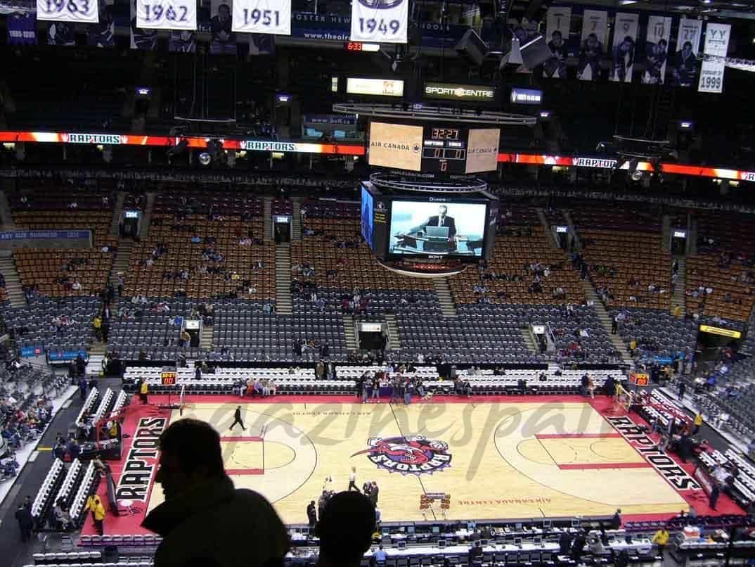 air-canada-center-estadio-de-Toronto-Raptors all star 2016