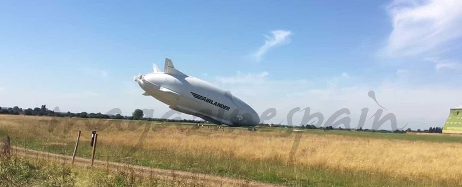 Se estrella el Airlander, el avión más grande del mundo