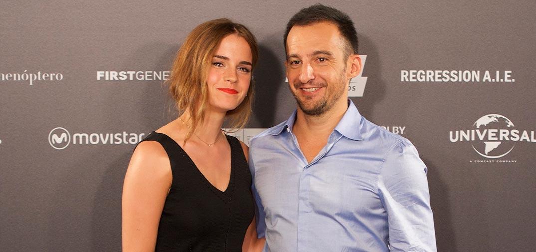 Amenábar dirige a Emma Watson en «Regresión»