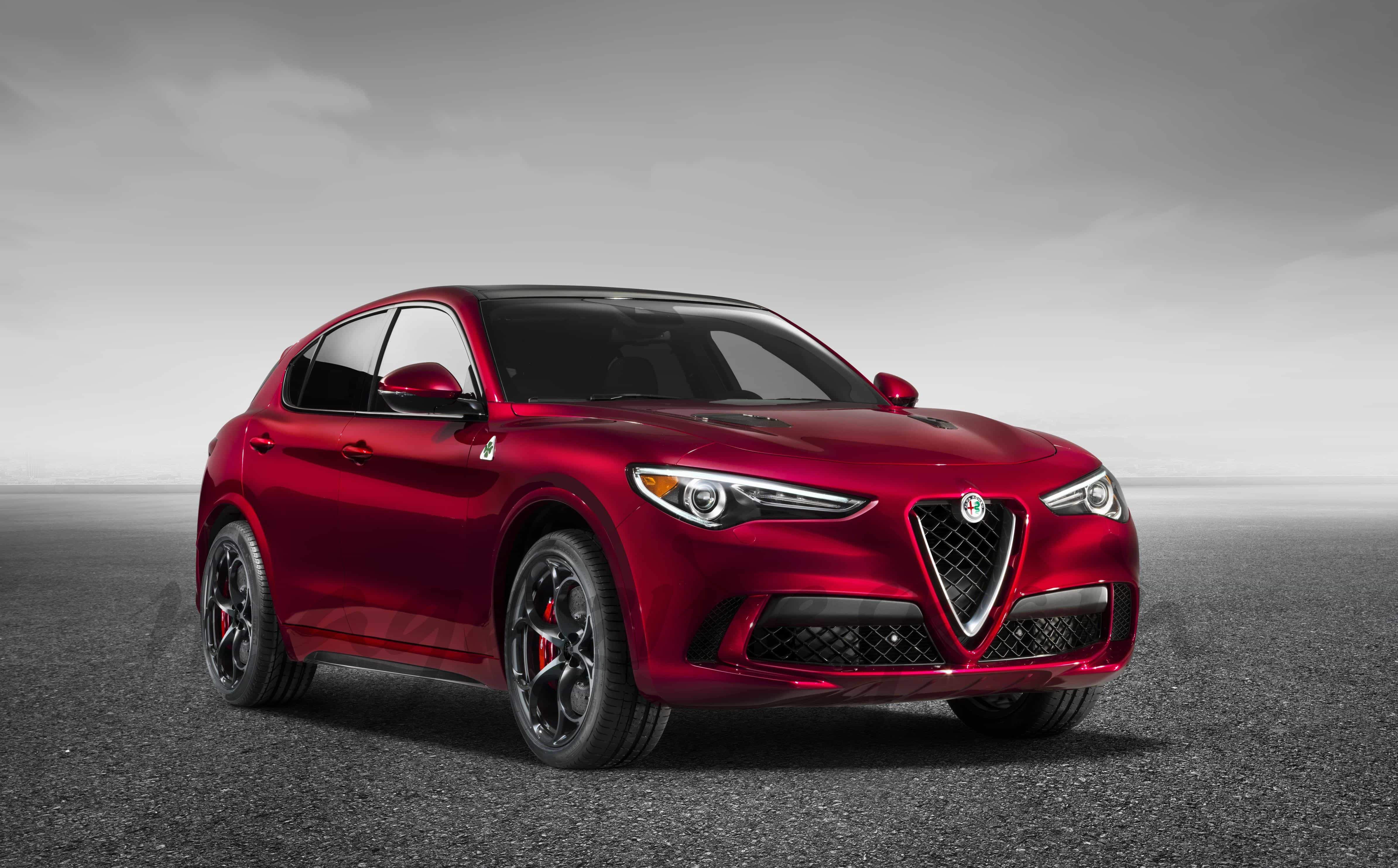 alfa romeo stelvio quadrifoglio suv. Black Bedroom Furniture Sets. Home Design Ideas