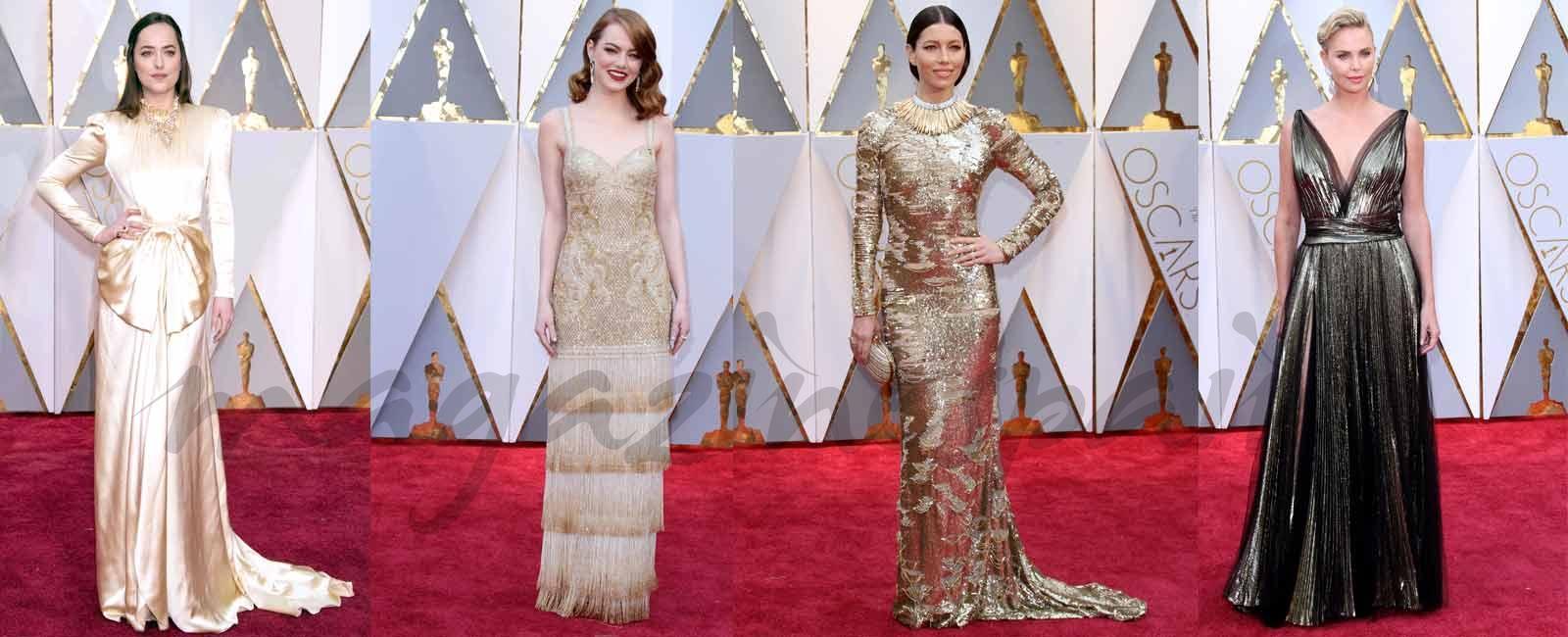 Oscars 2017: La elegancia de la alfombra roja… Ellas, ellos y parejas con glamour