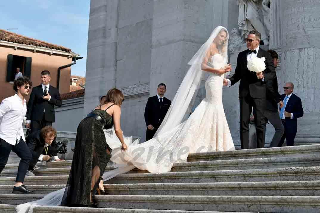 alice campello boda con morata en venecia