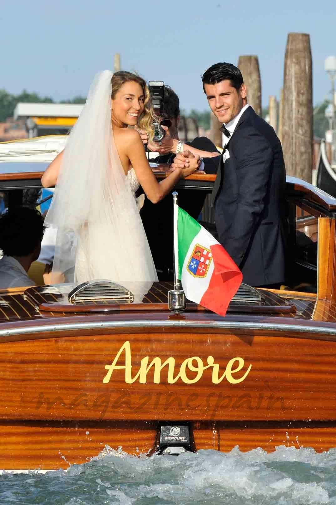 alvaromorata y alice campello boda en vnenecia