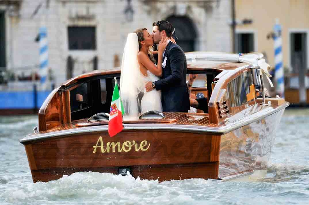 alvaro morata y alice campello boda en venecia