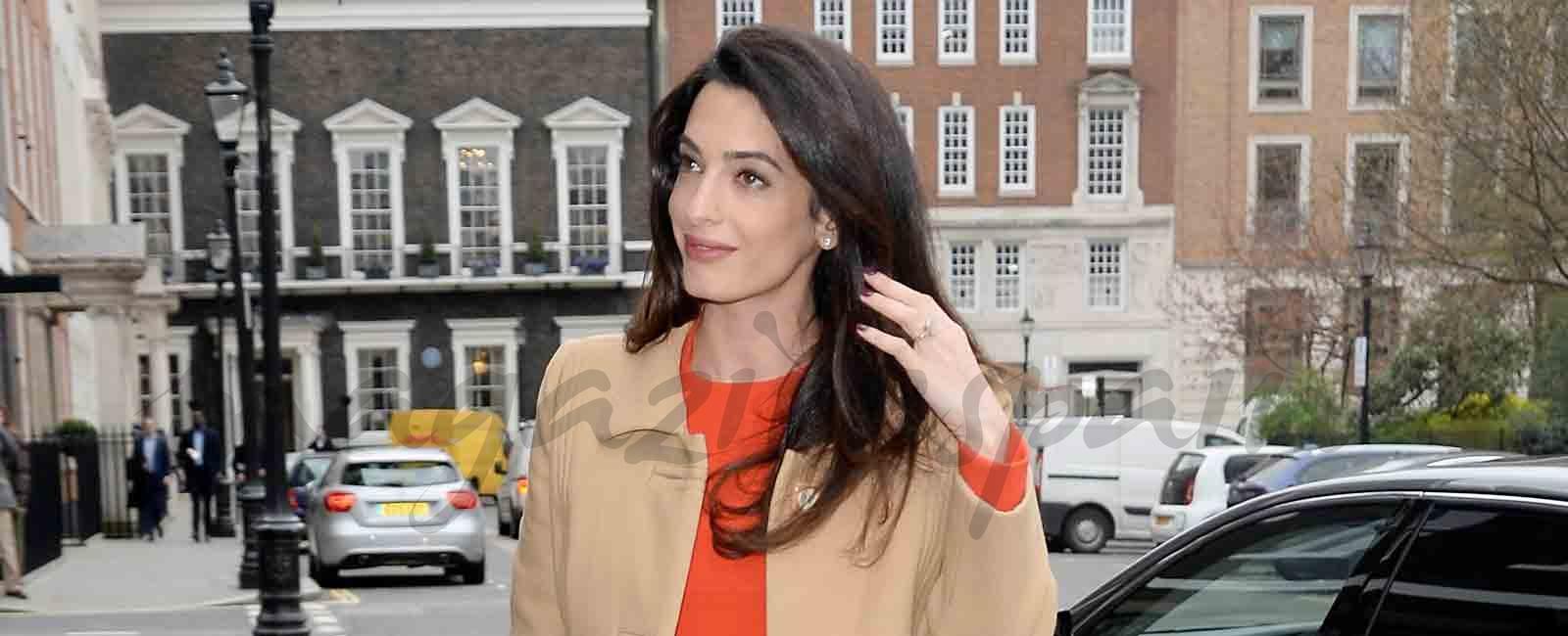 Amal y George Clooney no se ponen de acuerdo con el nombre de sus hijos