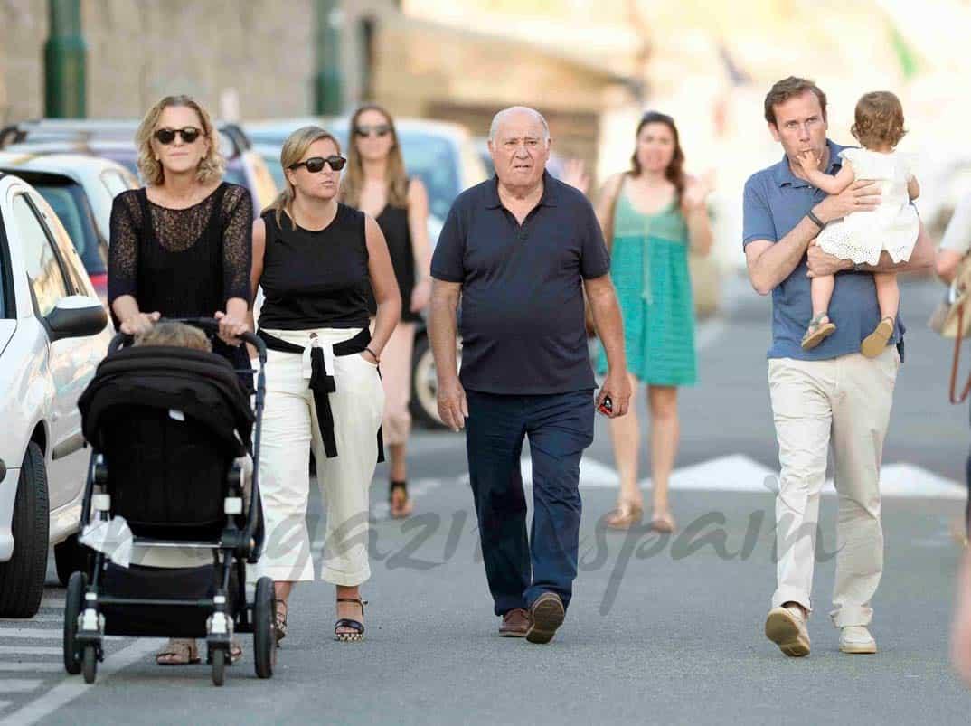 amancio ortega vacaciones en familia en saint tropez