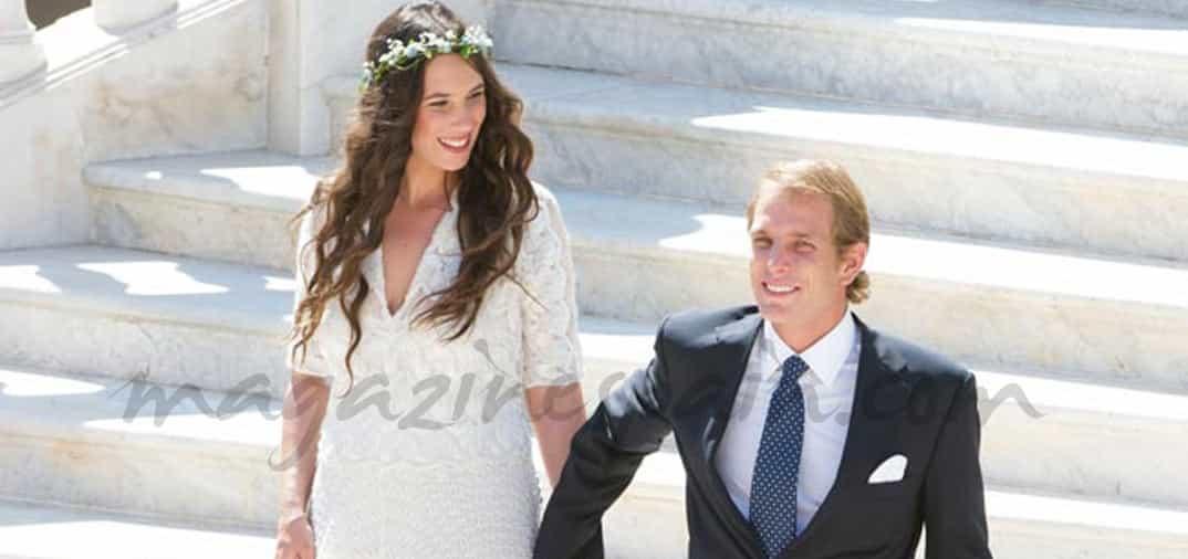 El espíritu bohemio del príncipe Andrea y Tatiana Santo Domingo el día de su boda
