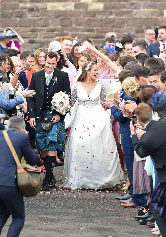 Flores de Escocia boda