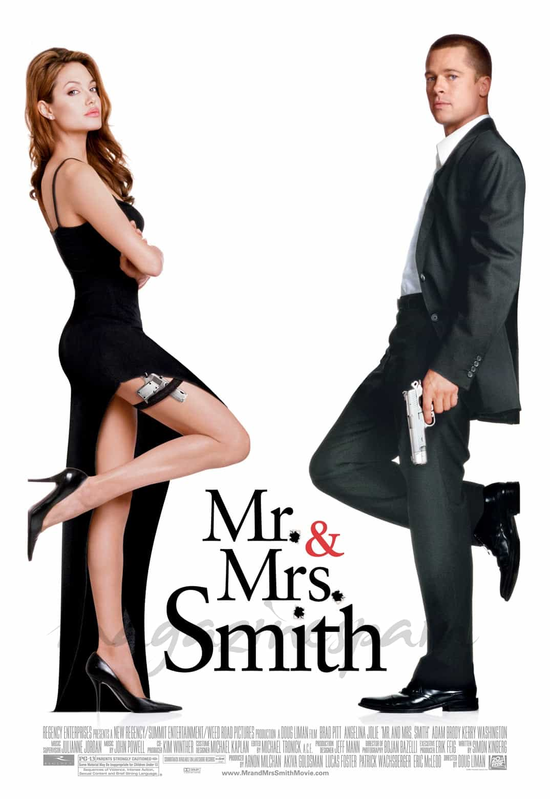 Angelina Jolie y Brad Pitt - Mr. & Mrs. Smith