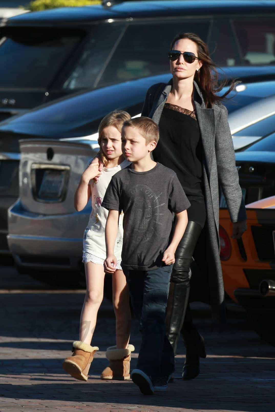 Angelina Jolie se apoy...
