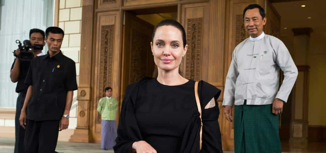 Angelina Jolie solidaria