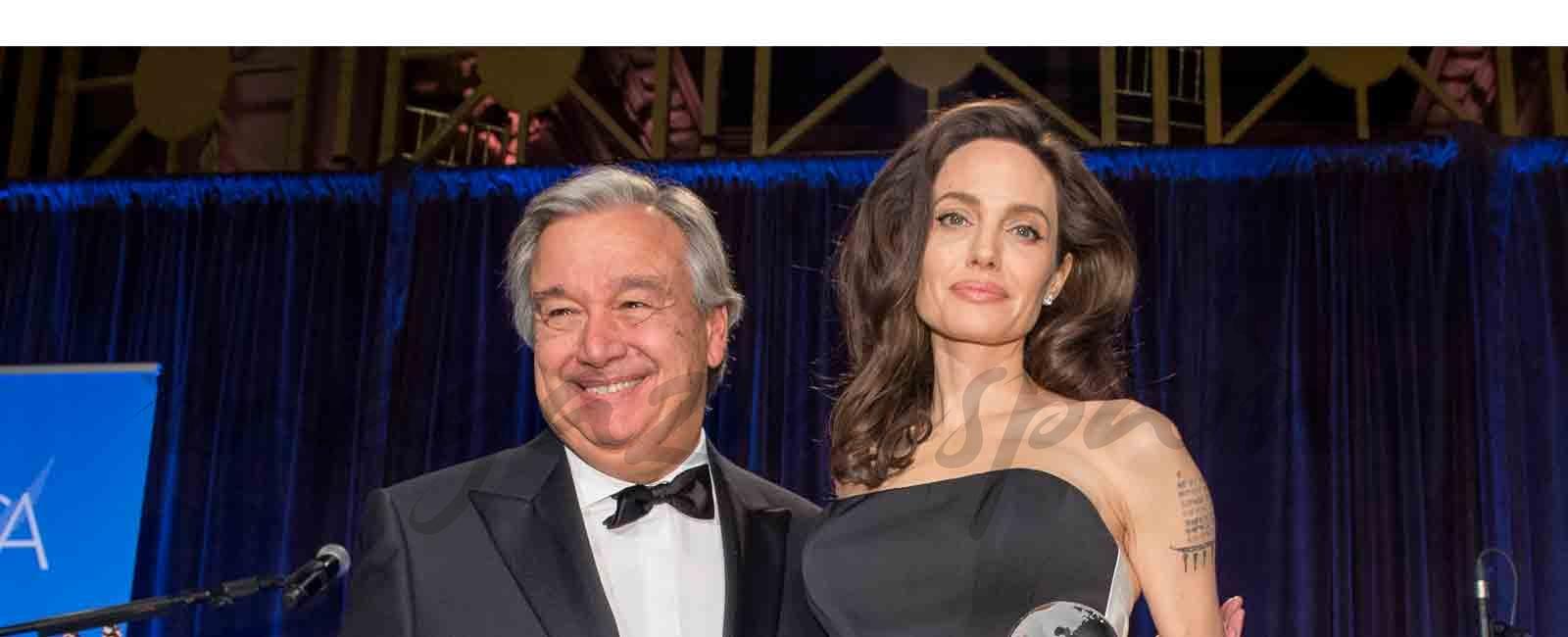 Angelina Jolie premiada por Naciones Unidas