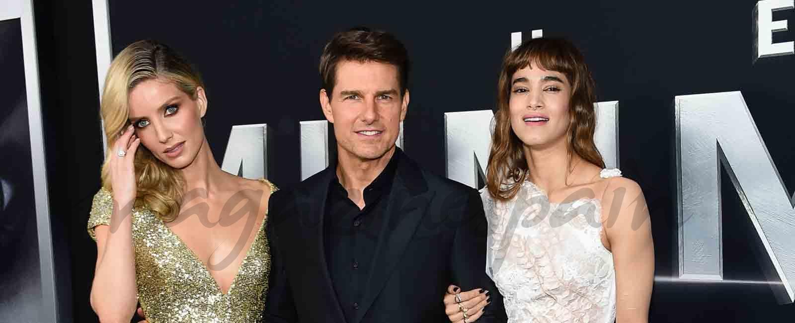 """Tom Cruise feliz en el estreno de """"La momia"""" en Nueva York"""