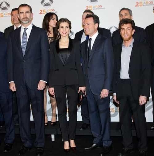 Los Reyes, invitados del honor en el 25 aniversario de Antena 3