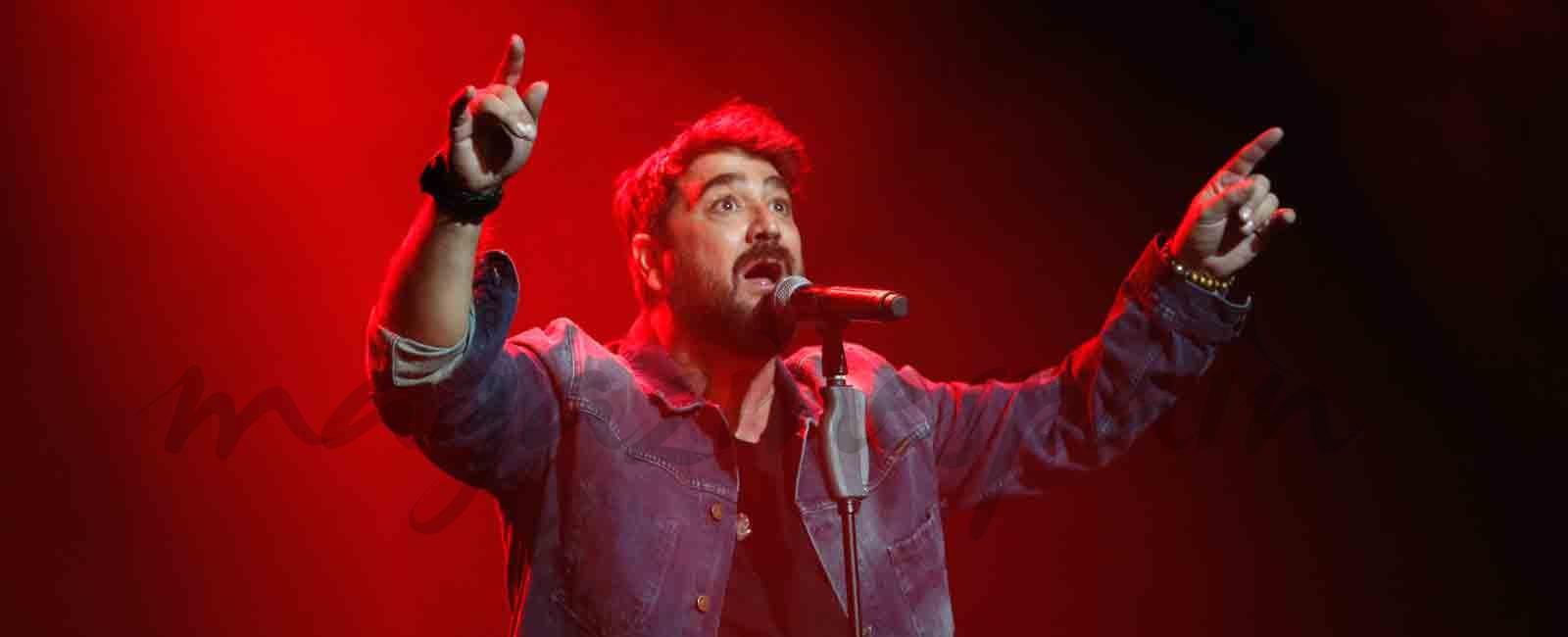 Antonio Orozco regresa a los escenarios tras el fallecimiento de su ex
