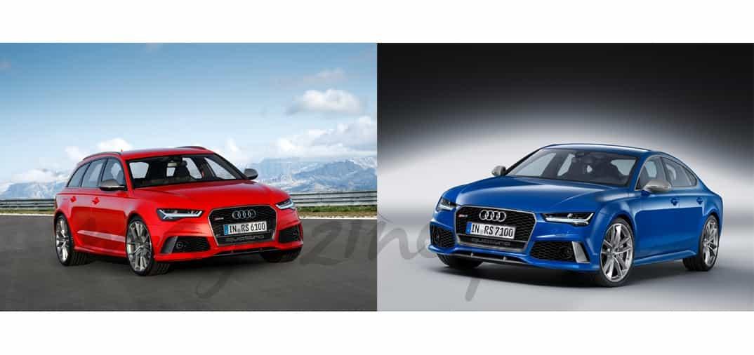 Nuevos Audi RS6 y RS7 perfomance