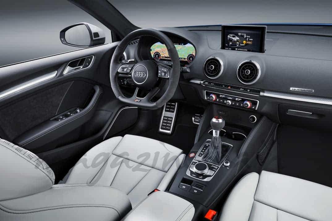 audi-rs3-sportback el 5 cilindros mas rapido del mundo