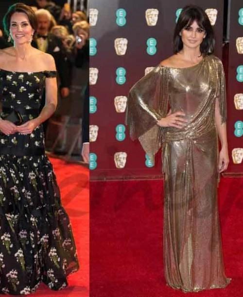La Duquesa de Cambridge, Penélope Cruz, Emma Stone… El glamour de la alfombra roja de los BAFTA
