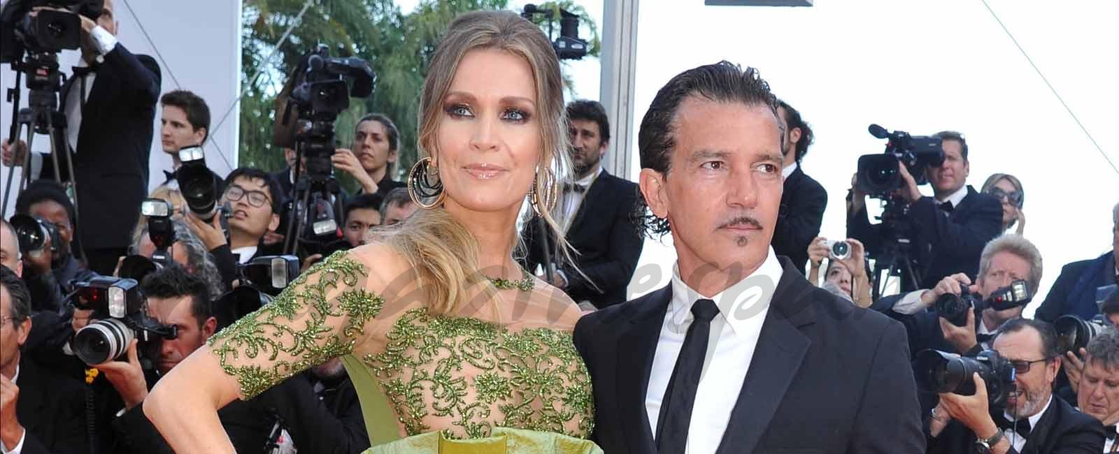 Antonio Banderas y Nicole Kimpel, tres años de amor en Cannes