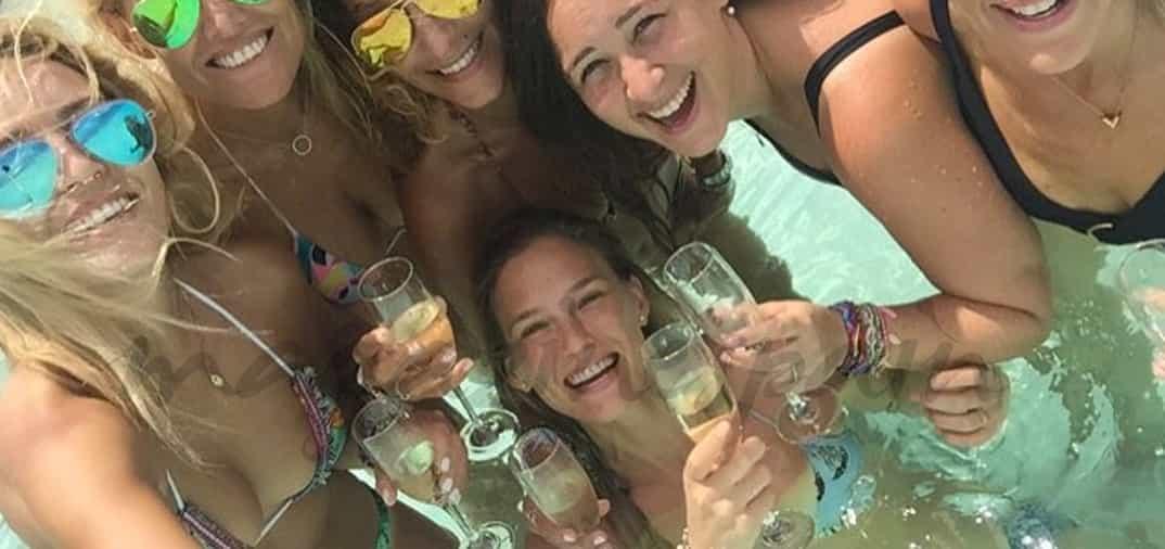 Bar Refaeli y sus amigas, despedida de soltera en Maldivas