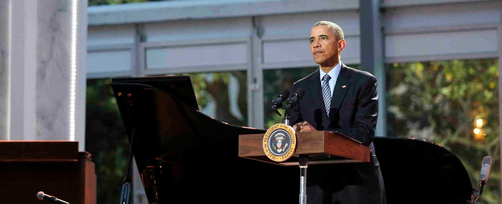 Barack Obama se despide de los corresponsales