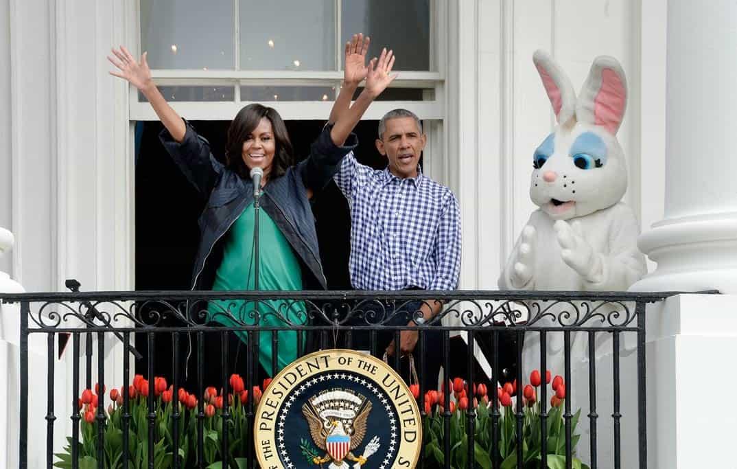 barack-obama-y-michelle-obama celebran la pascua en la casa blanca