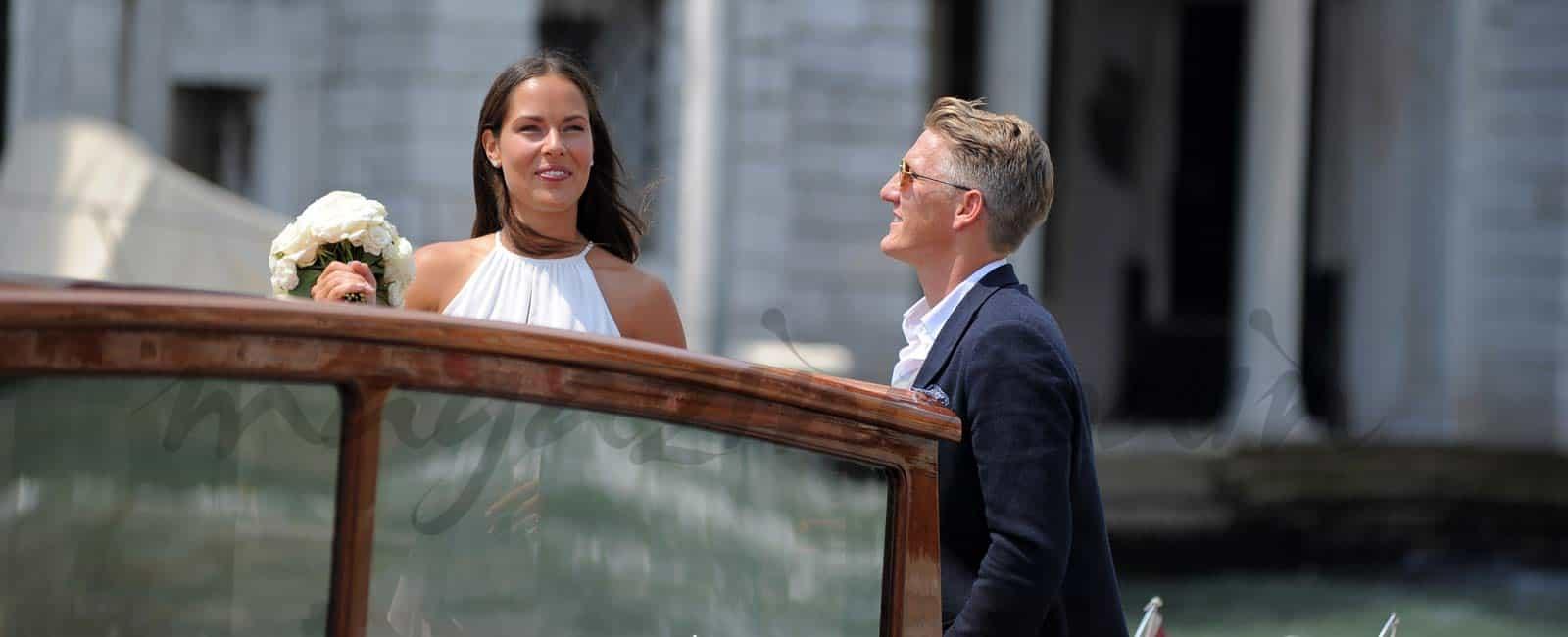 Bastian Schweinsteiger y Ana Ivanovic boda en Venecia