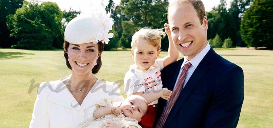 Los Duques de Cambridge, han bautizado a su hija Carlota
