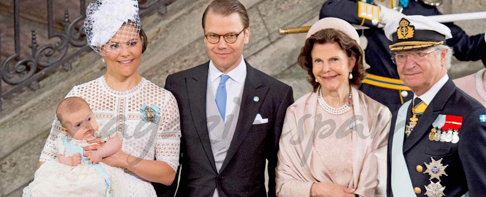 Bautizo de Óscar de Suecia