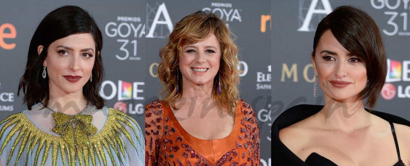 31º Premios Goya: Los beauty looks más impactantes