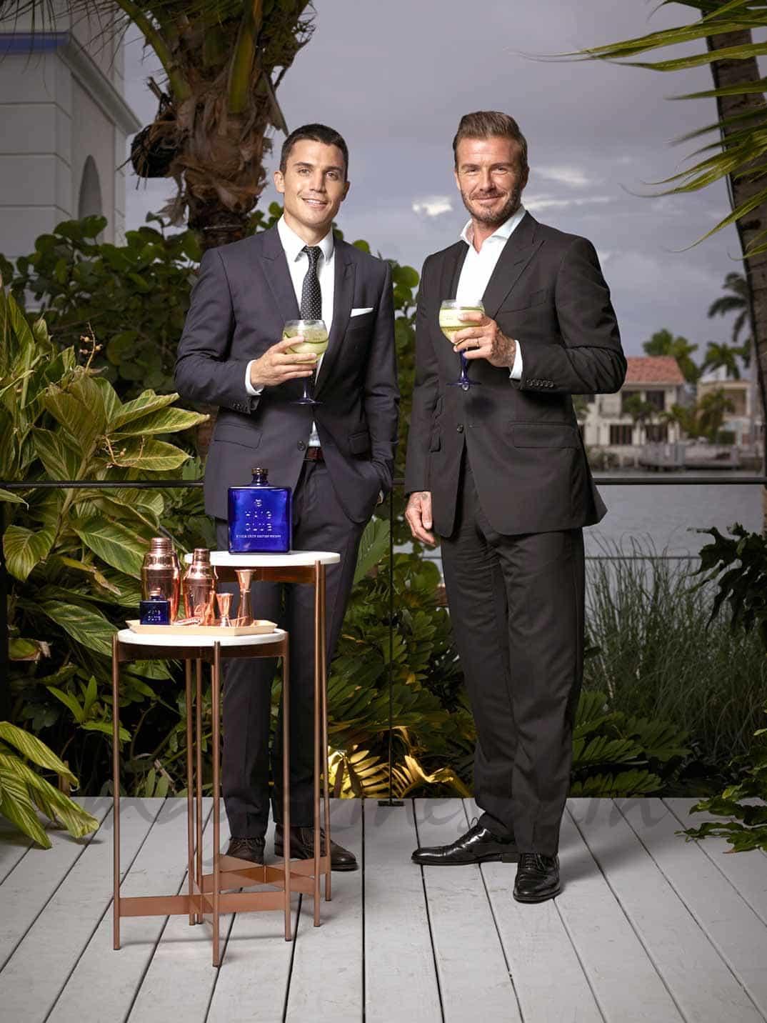 David Beckham y Alex González