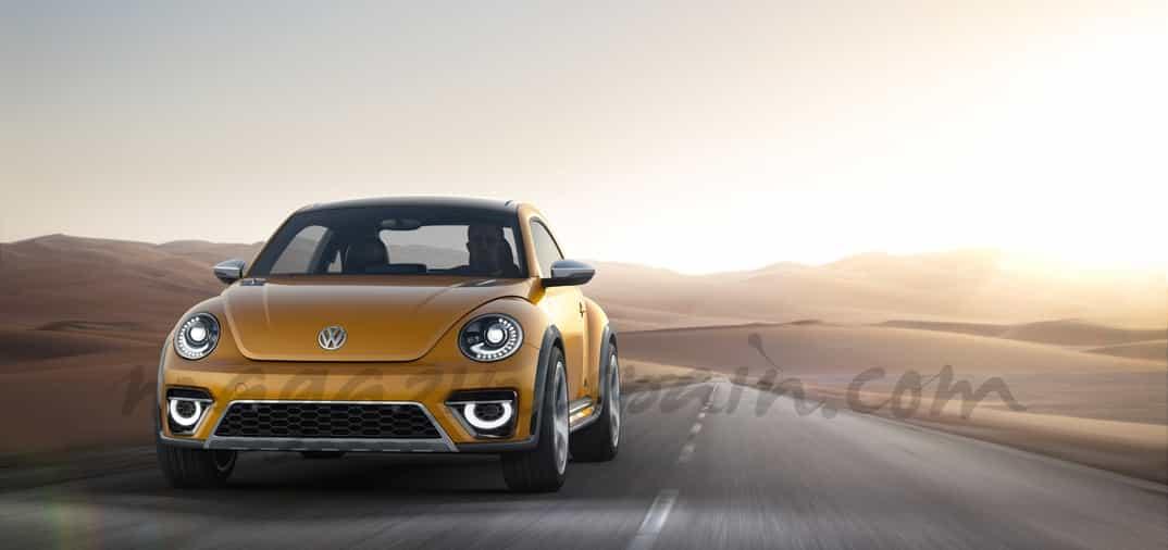 Volkswagen Beetle Dune, con aspecto offroad