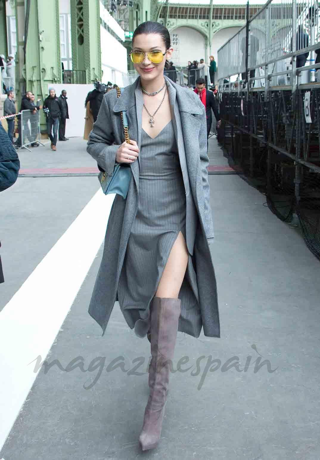 Bella Hadid desfile Chanel Paris