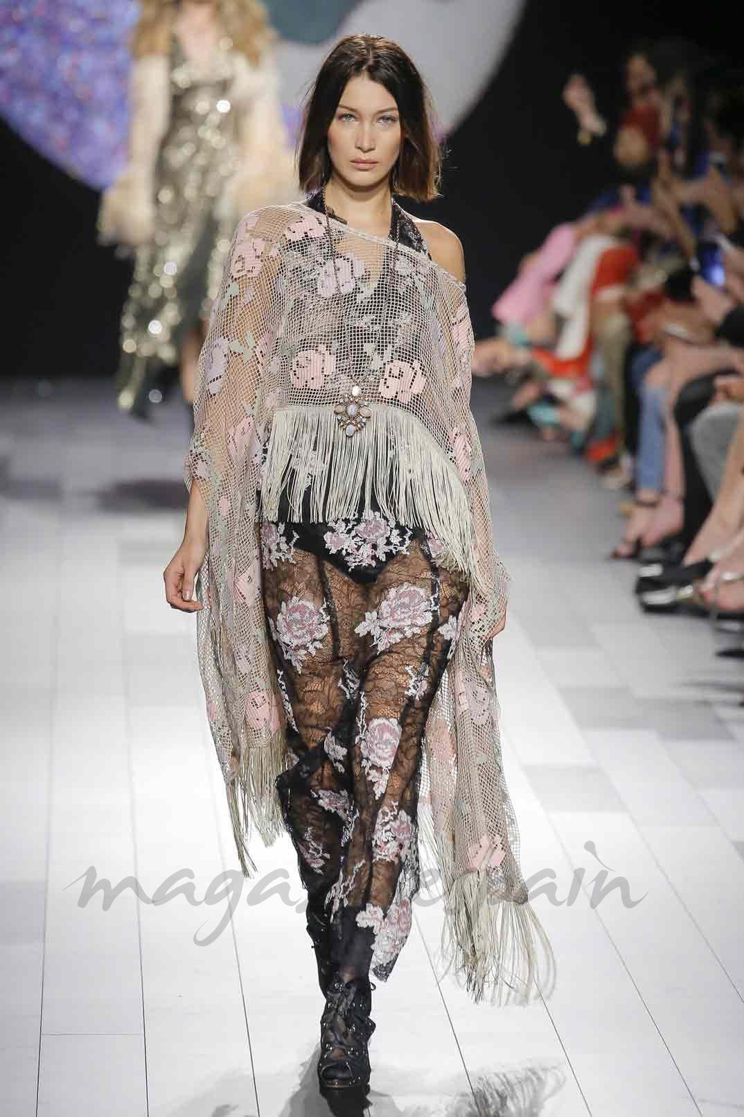 Bella Hadid - NYFW SS10 - Anna Sui