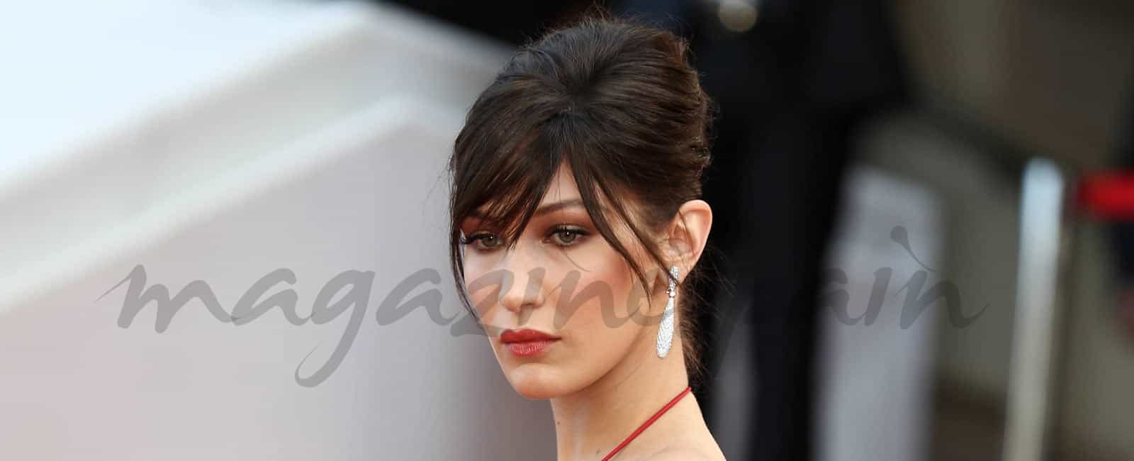 Bella Hadid, embajadora de la linea de maquillajes, de Dior
