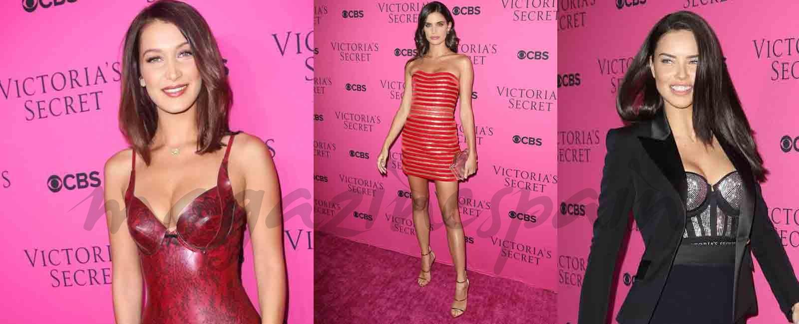Los ángeles de Victoria's Secret, duelo de elegancia