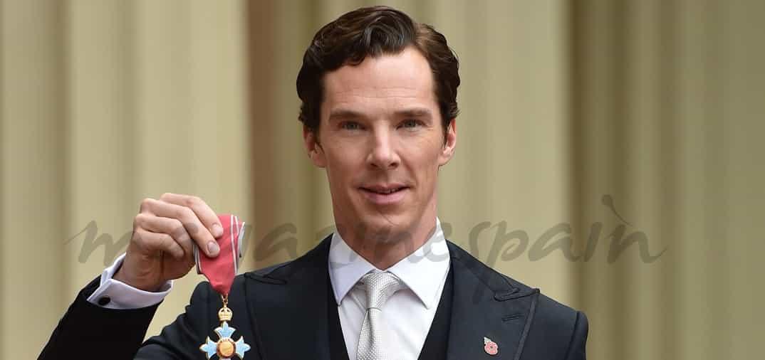 Benedict Cumberbatch, distinguido con la medalla de: «Comandante de la Orden del Imperio Británico»