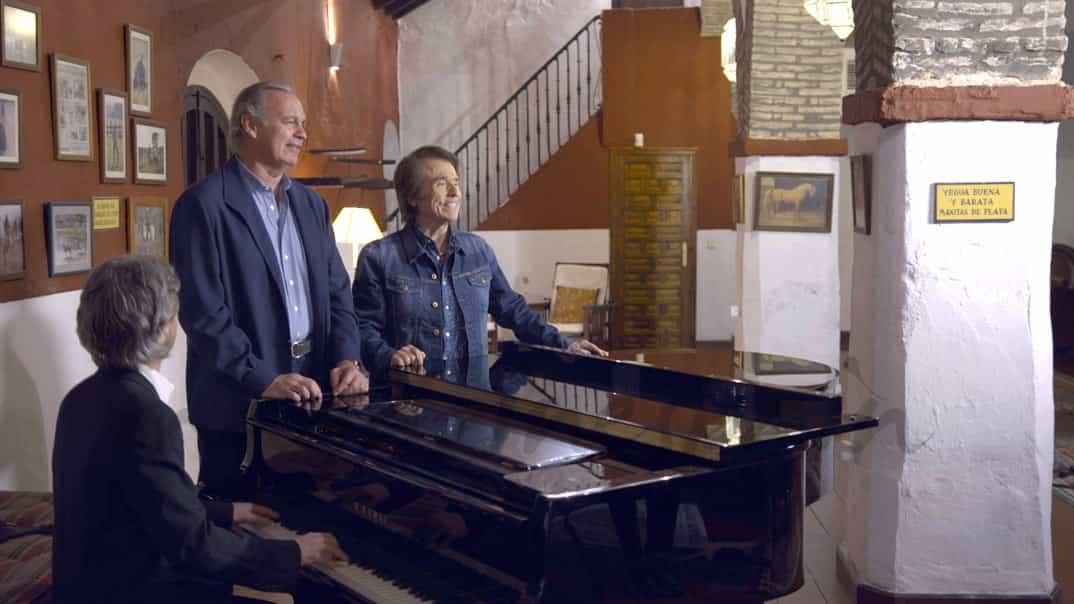 "Bertin Osborne y Raphael en ""Mi casa es la tuya"" © Mediaset"