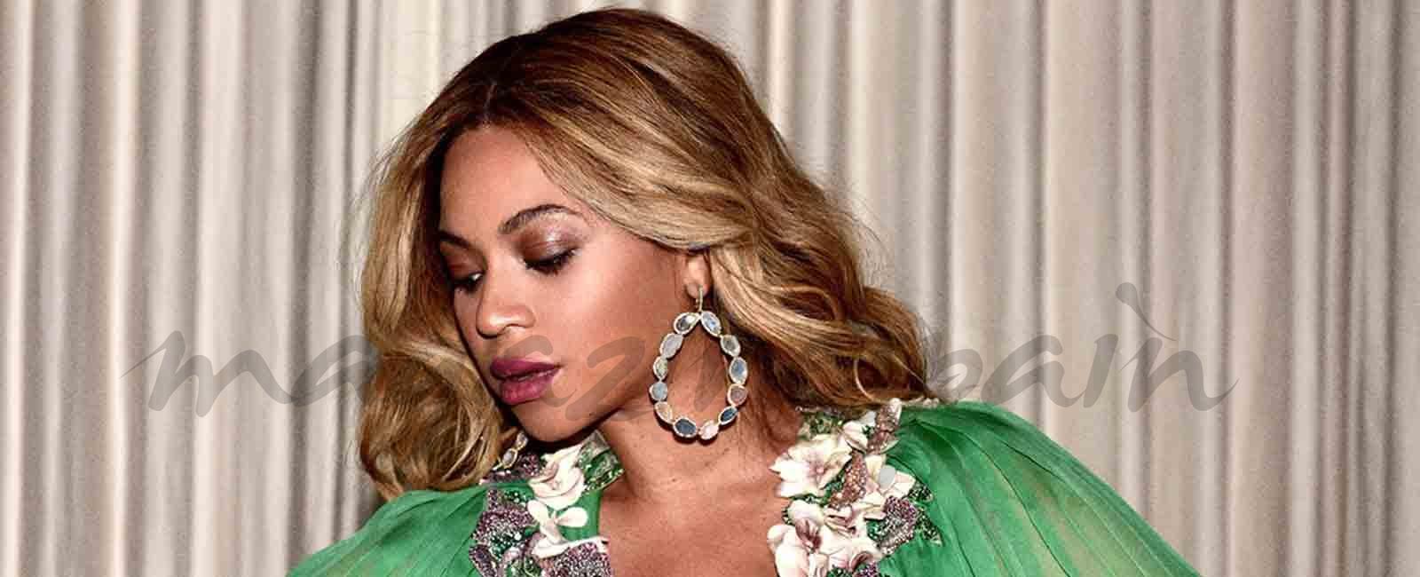 Beyoncé a pocas semanas de ser madre