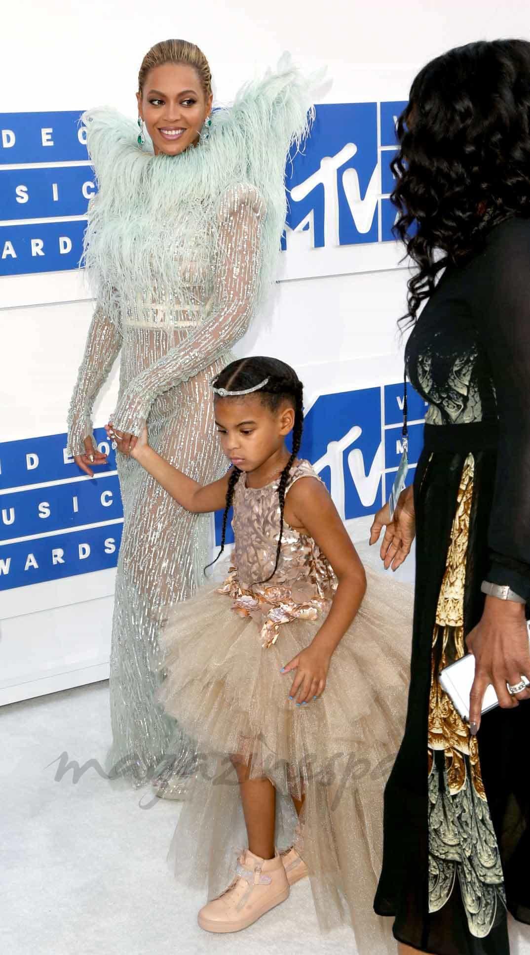 Beyoncé con su hija Blue Ivy