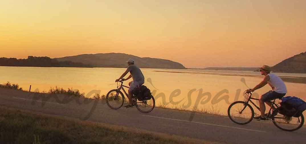 Recorre el Danubio en bicicleta
