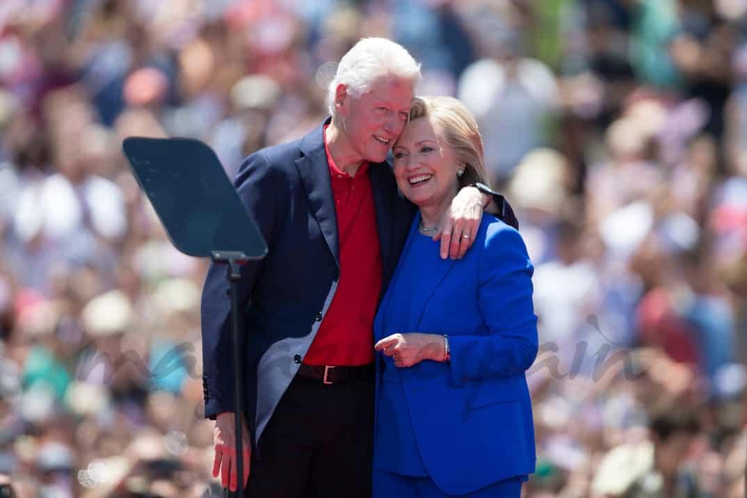 Bill Clinton y Hillary Clinton