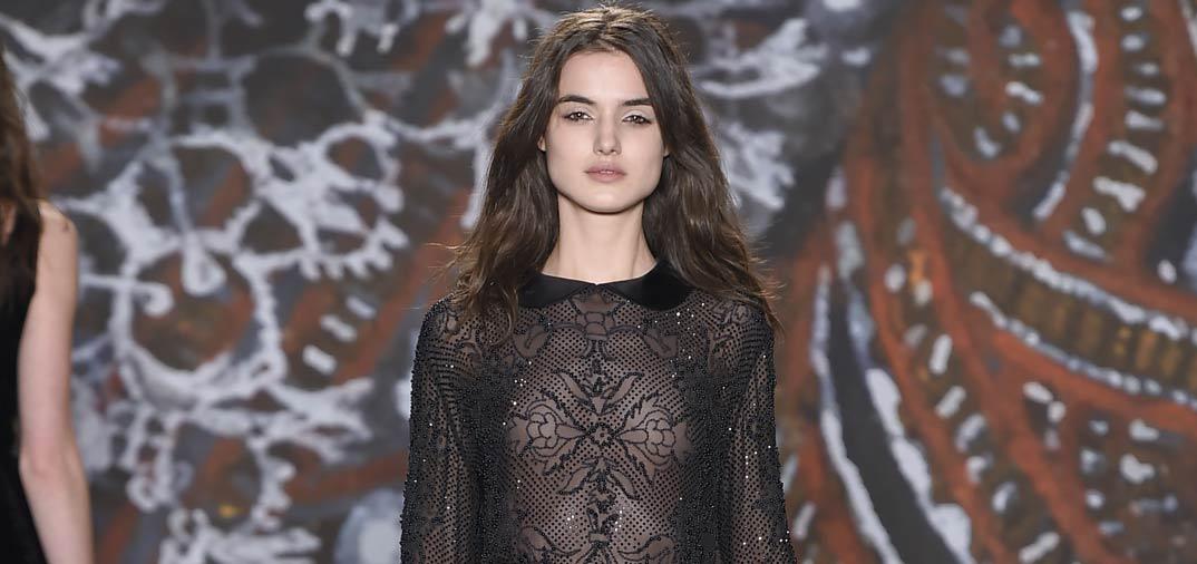 Blanca Padilla triunfa en la Fashion Week de New York