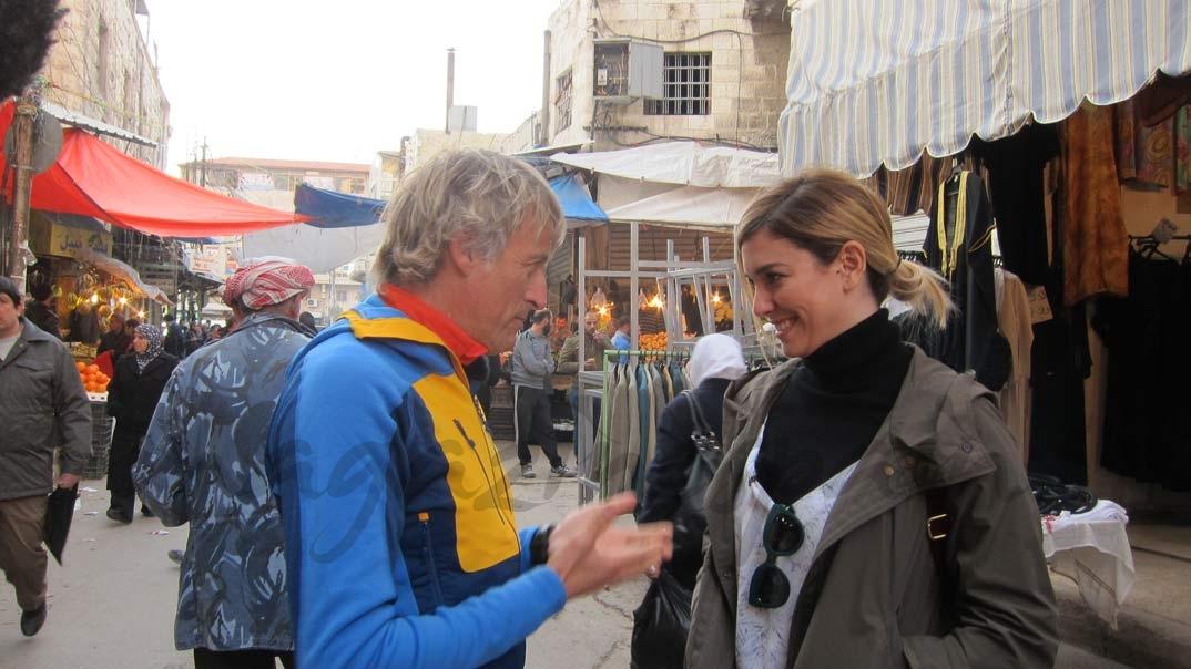 """Blanca Suárez en """"Planeta Calleja"""" © Mediaset"""
