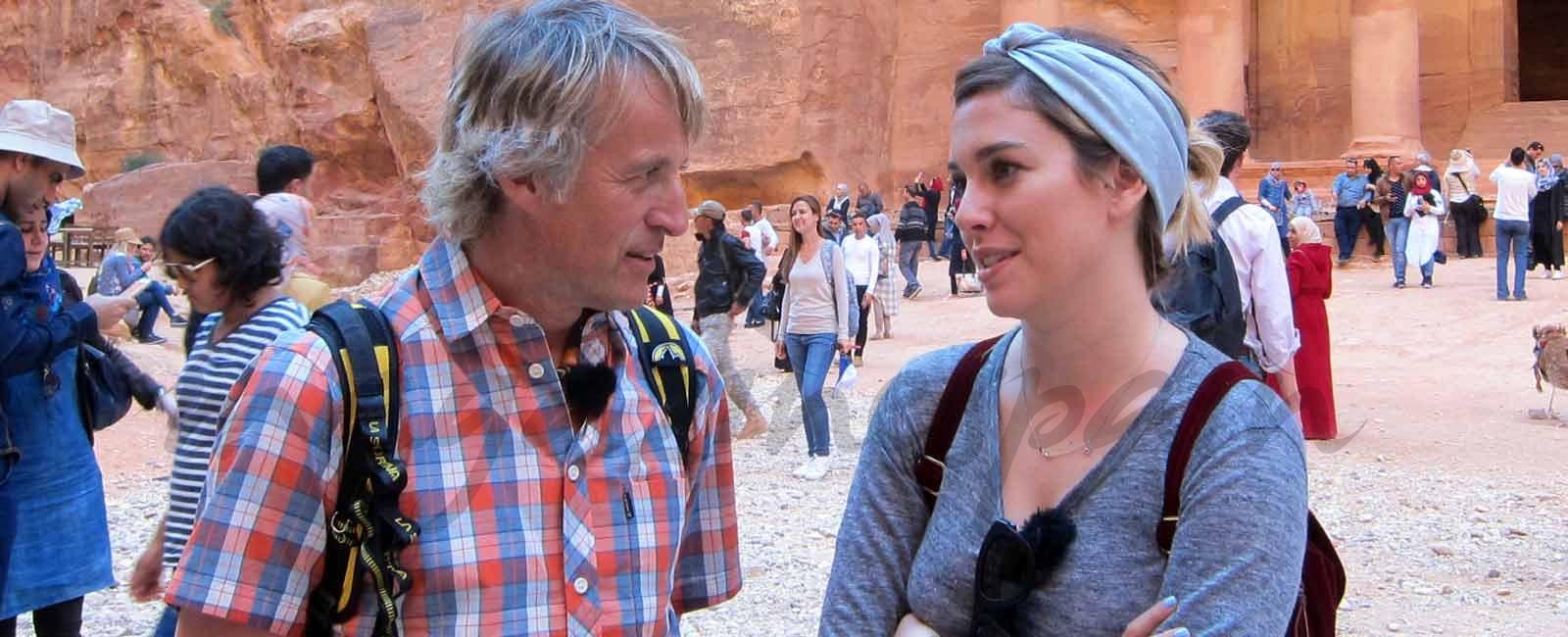 Las confesiones de Blanca Suárez en el desierto de Jordania