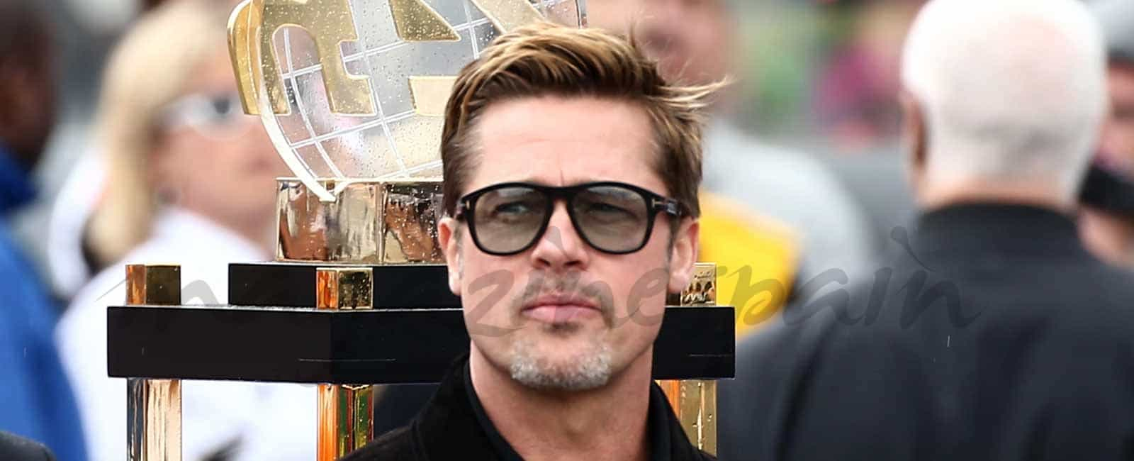 Brad Pitt en las «24 Horas de Le Mans»