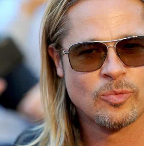 Los look de Brad Pitt, en sus últimos años, al cumplir 50