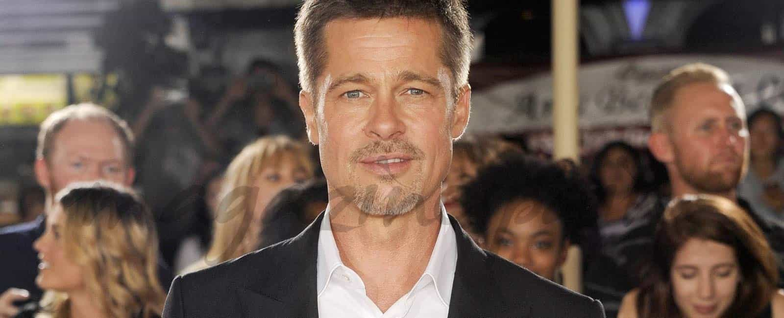 Brad Pitt reaparece mucho más delgado, tras su separación de Angelina Jolie