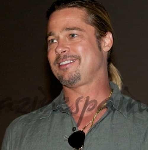 Brad Pitt sorprende a sus fans en Madrid
