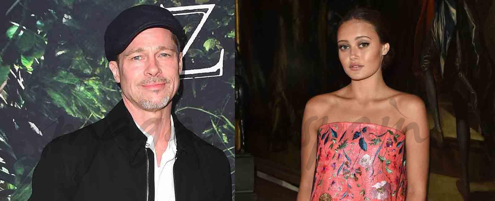 Brad Pitt (53) y Ella Purnell (21) ¿nueva pareja?
